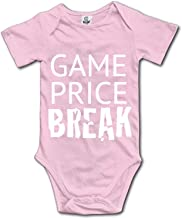 YSKHDBC Flat Iron Square Onesies Short Sleeve Home Outfit for Baby Boys Girls