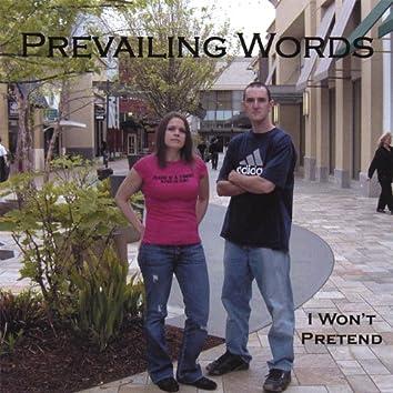 I Won't Pretend