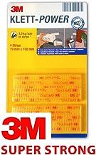 3M Dual Lock Klett-Power High-Tech fermeture /à pression 19 mm x 100 mm autocollant Pack of 2 Set