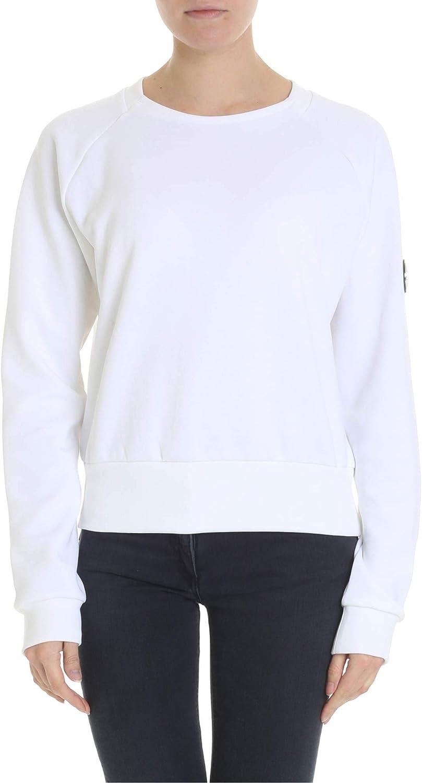 Colmar Originals Women's 90887SG01 White Cotton Sweatshirt