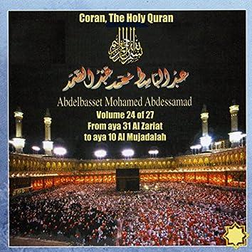 Coran, The Holy Quran Vol 24 of 27