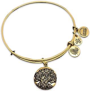 سوار شجرة الحياة على شكل مملكة الحيوان من أليكس آند آني - هدية مجوهرات (ذهبي)