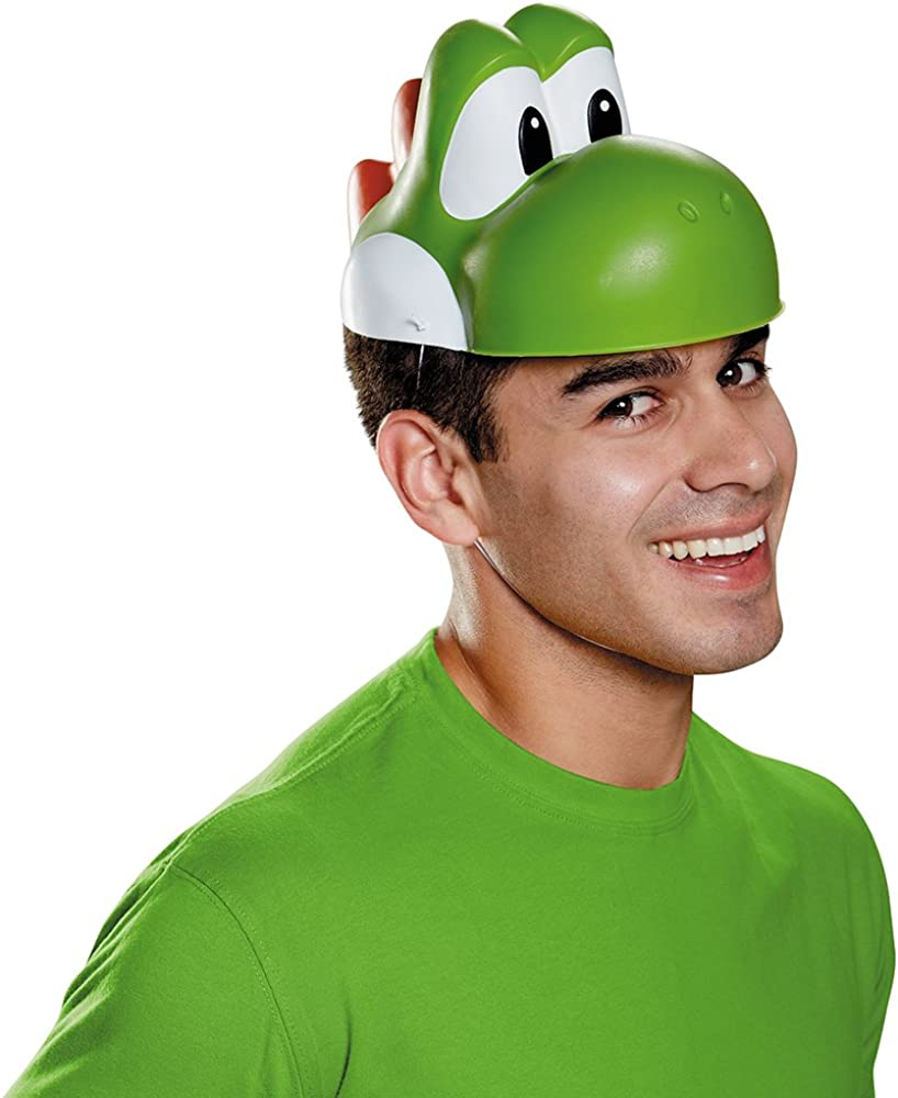 Disguise Men's Max 86% OFF Yoshi Mask Costume OFFicial store Adult Accessory -