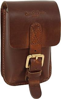 Gusti Gürteltasche Leder - Garen Bauchtasche Ledertasche Vintage Braun Leder