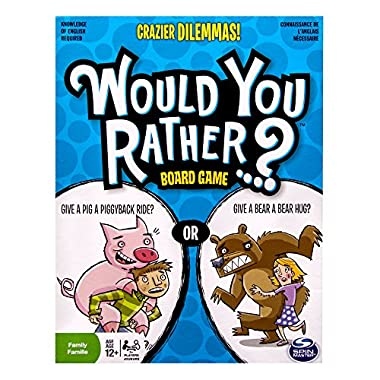 Spin Master Games Would You Rather - Crazier Dilemmas Board Game