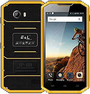 MDY AYSMG Proofing W7S, 2GB+16GB, IP68 Waterproof Shockproof Dustproof, 5.0 inch Android 6.0 MTK6737 Quad Core up to 1.3GHz, Network: 4G, MIL-STD-810G Certification(Black) MDYH (Color : Yellow)