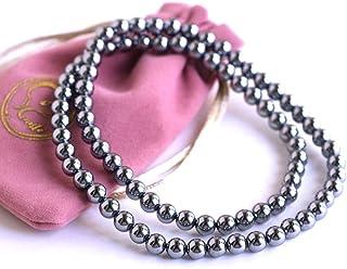 [Amazon限定ブランド] Beautéller テラヘルツ ゴム ネックレス 伸びるので着脱が簡単【6mm 60cm】