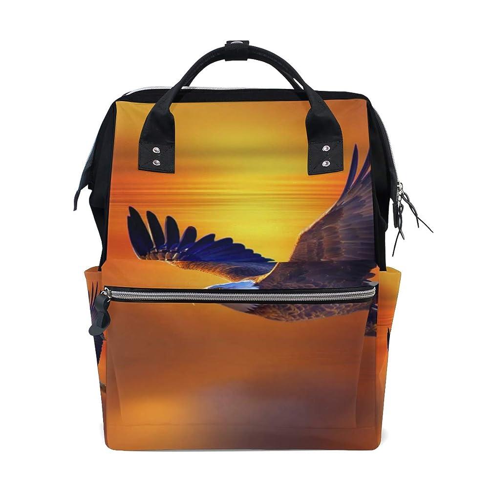 Flying Eagle School Backpack Large Capacity Mummy Bags Laptop Handbag Casual Travel Rucksack Satchel For Women Men Adult Teen Children