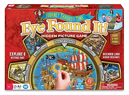 Wonder Forge Journey Through Time Eye Found It! Game