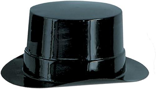 Beistle léopard 66620-bk Lot DE 48Feuilles Miniature en Plastique Noir Décorations, 43 4en 5,1cm