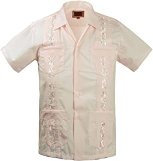 Maximos Guayabera Kids Toddler Junior Beach Wedding Baptism Button-Up Casual Dress Shirt