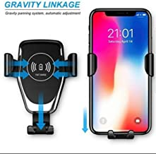 Multi Function 10W Wireless Quick Charging Mobile Phone USB Fast Qi Wireless Car Charger & Phone Holder