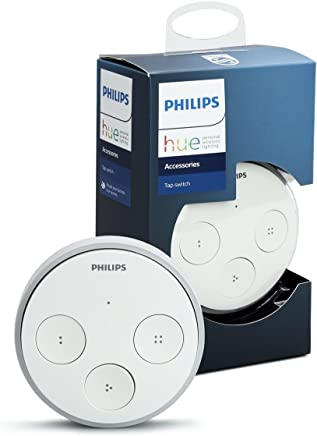 Philips Hue Smart Tap Switch (Compatible with Amazon Alexa, Apple HomeKit and Google Assistant)