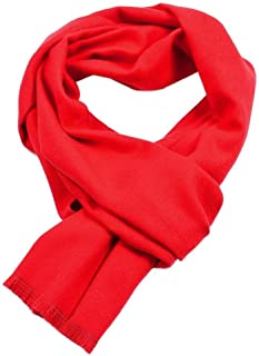 Howely Men Solid Shawl Fall Winter Scarves Cashmere Warm Super Soft Scarf
