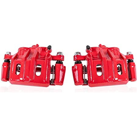 4 Hardware fit Lexus RX330 RX350 FRONT REAR Premium Powder-Coated Remanufactured Calipers Callahan CCK05534