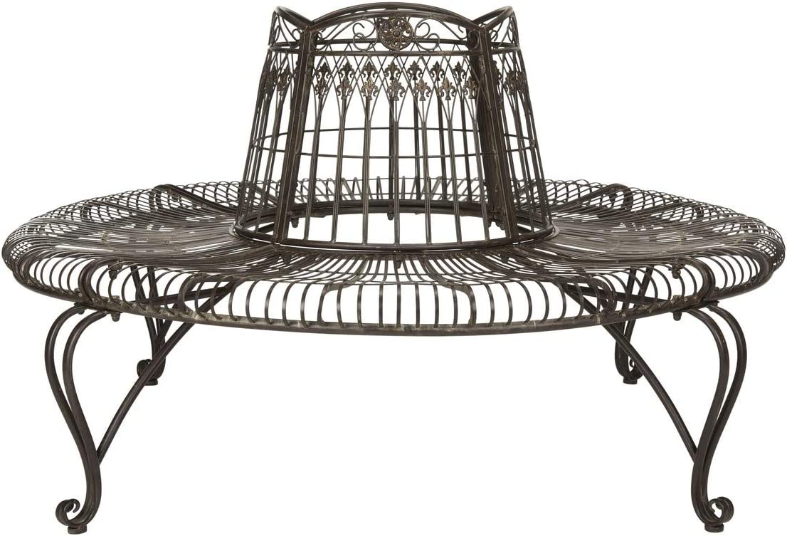 Safavieh PAT5019A Collection Abia Antique White Wrought Iron 50