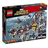 LEGO Marvel Super Heroes Spider-Man: Combate definitivo Entre los Guerreros arácnidos - Juegos de construcción, 8 año(s), 1092 Pieza(s), Cómics, Niño, 14 año(s)
