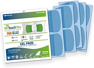 Witouch Pro and Aleve Direct Therapy TENS Gel Pad Refills - 1 Pack of 10 Pads (5 Pairs of Gel Pads)