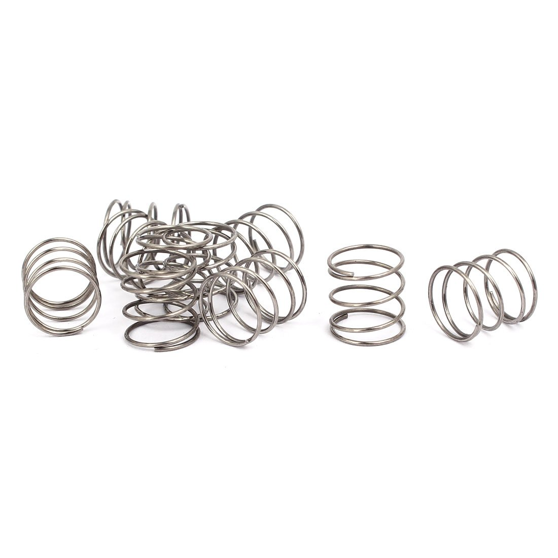uxcell Compression Spring 304 Outlet SALE Stainless Wire 10mm 0.6mm Steel OD Super special price