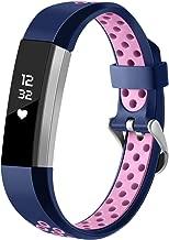 HUMENN Correa para Fitbit Alta (HR), Edición Especial Deportes Recambio de Pulseras Ajustable Accesorios para Fitbit Alta/Fitbit Alta HR Grande Pequeño