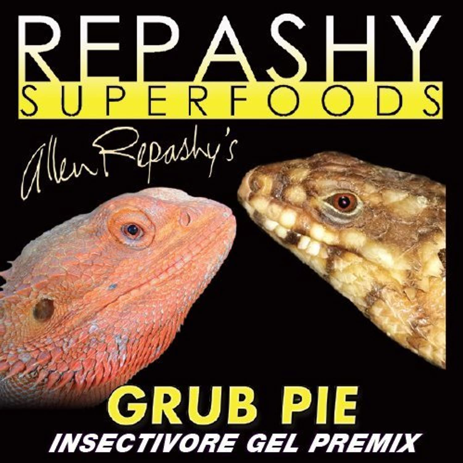 Repashy Grub Pie Insectivore Diet Gel Premix (Reptile) All Sizes 12 Oz (3 4 lb) 340g JAR by Repashy Ventures Inc.