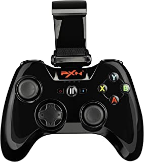 SRI SHOP ワイヤレスゲームコントローラー ios スマホ用  PXN-6603 ブラック
