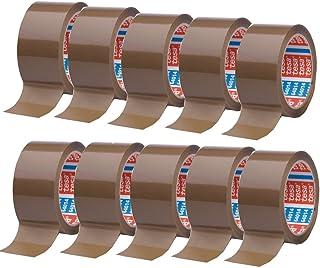 Tesa 64014 plakband - bruin - 66 m x 50 mm 10 Rollen bruin