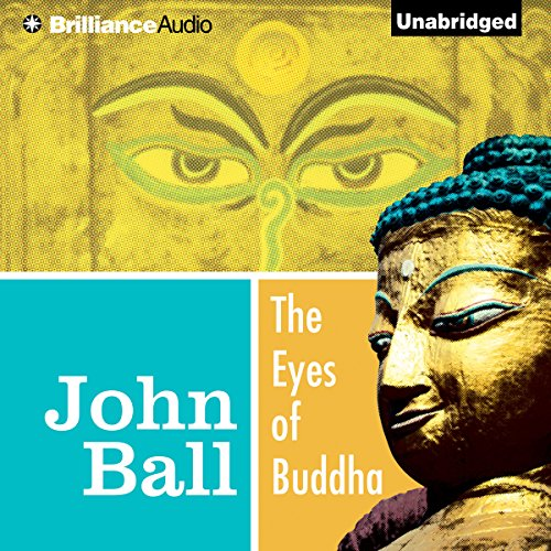 The Eyes of Buddha audiobook cover art