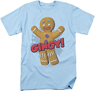 2Bhip Shrek Animated Children's Comedy Movie Gingy Gingerbread Man Adult T-Shirt