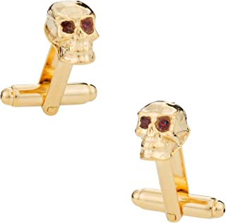 Best gold skull cufflinks Reviews