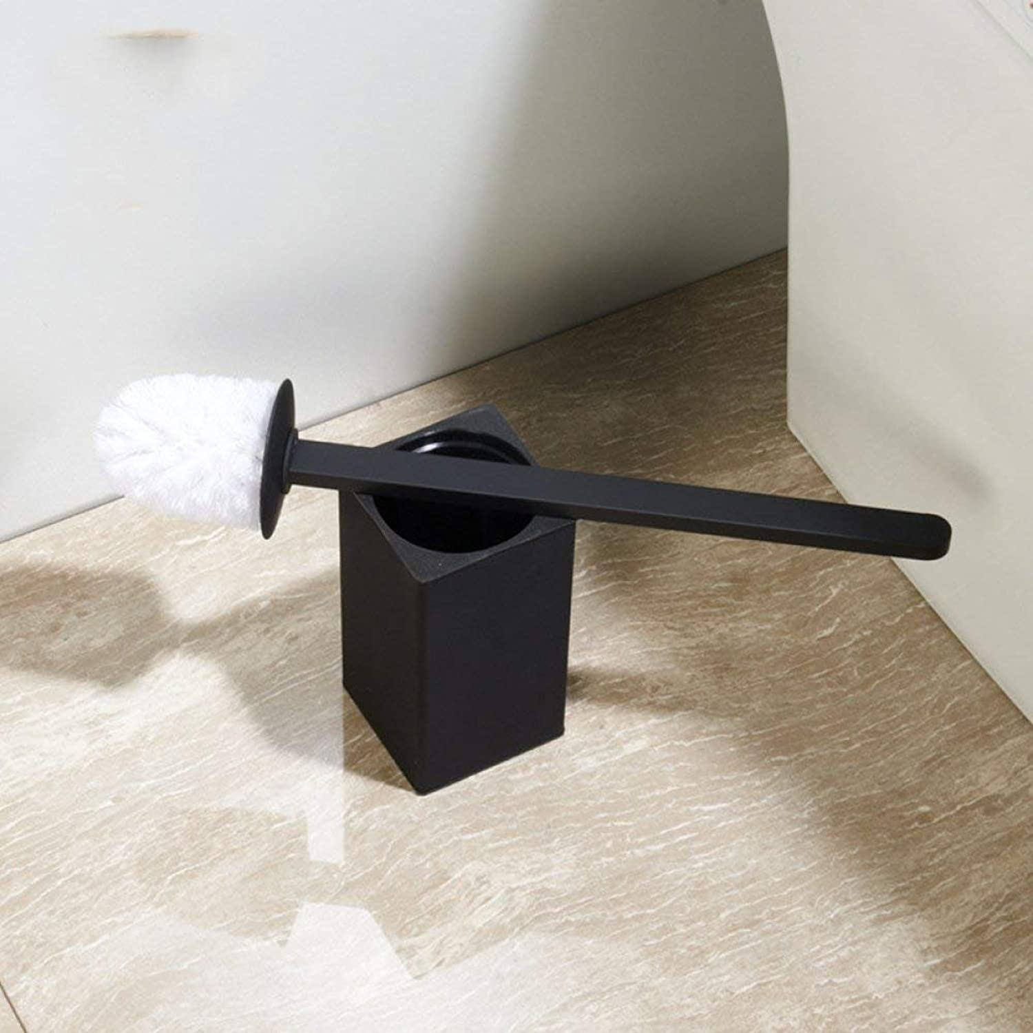 Simple WC Brush in The Stainless Steel Black parquet Floor WC Brush Accessories of Bathroom All Brushes WC Rubber Paint