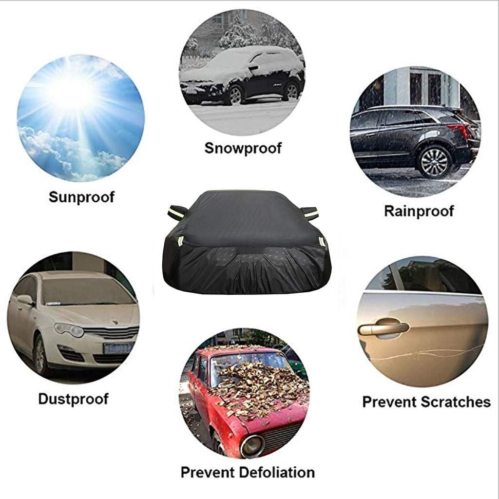 soleil UV |Int/érieur ext/érie vent protection contre la pluie poussi/ère Housses pour auto Couverture de voiture fonctionne avec Mercedes-Benz Classe A couverture de voiture |Imperm/éable tout temps