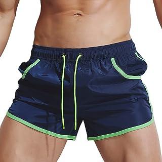 c1f47e5f3d Men's Swim Shorts, Mens Breathable Swim Trunks Pants Swimwear Shorts Slim  Wear Bikini Swimsuit