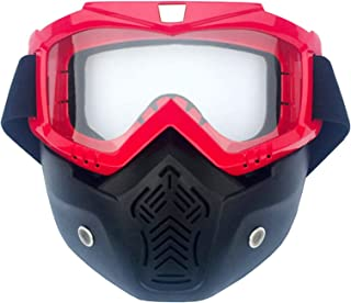 Aooaz Outdoor Retro Mask Motorcycle Helmet Cross Country Goggles Riding Glasses Mask