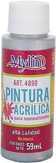 Mylin Pintura Acrílica Metálica Brillante 59ml No Tóxica