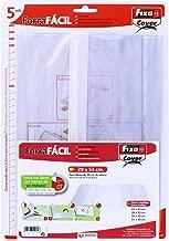 Fixo Cover 1009600?Pack de 5 forros para libros, ajustables, transparente, 29 x 53 cm