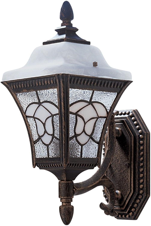 MEILING Im Freien Innen-europische Art-Wand-Lampen-Garten-Balkon-Tür-Patio-Landhaus-Wand-Lichter