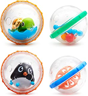 Munchkin Float and Play Bubbles Bath Toy, Pack of 4 (Assorted model)