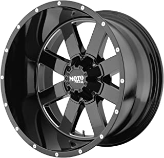 Moto Metal  MO962 Gloss Black Wheel with Milled Accent Finish (20x12