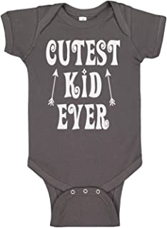 Reaxion Handmade Cute Baby Boy and Baby Girl Bodysuits - Screen Printed Cutest Kid Ever
