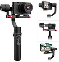 Hohem iSteady Multi, All-in-1 3-Axis Handheld Gimbal Stabilizer for Digital Camera, Action Camera and Smartphone, Compatib...