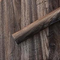 【Sunice】 木目風 壁紙 ウォールステッカー 壁紙シール 部屋 木目調 剥がして貼る 幅1.24m×長さ1m