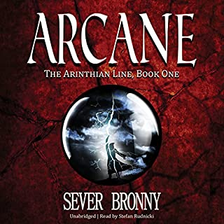 Arcane audiobook cover art
