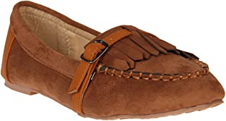 Red Pout Women Brown Loafers