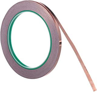 Vasdoo Copper Foil Tape (1/4inch X 22yards) with Conductive Adhesive for EMI Shielding, Stained Glass, Paper Circuits, Electrical Repairs, Grounding