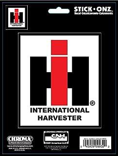 Pink IH sticker decal small Case IH International Harvester Hot Pink