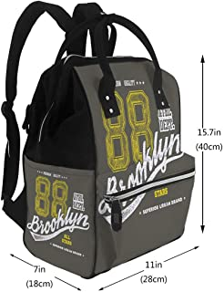 Nappy Bags Vintage Brooklyn Diaper Bags Backpack