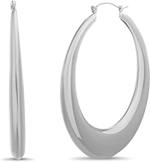 Steve Madden Graduated Hoop Earrings for Women
