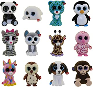 TY Mini Boo Figures - SET OF 13 - (INCLUDES MYSTERY CHASER!!)