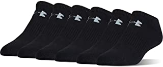 Under Armour Youth Charged Cotton 2.0 No Show (6 Pack)